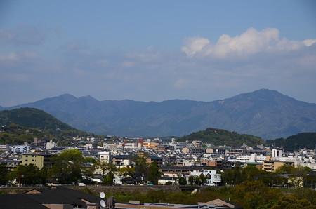 法輪寺からの眺望