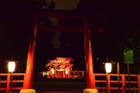 下鴨神社の夜景