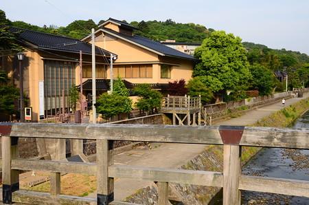 梅ノ橋と徳田秋聲記念館
