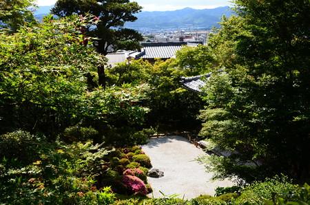 芭蕉庵からの眺望