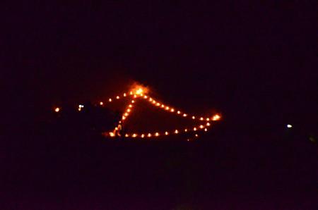 出雲路橋からの「舟形」