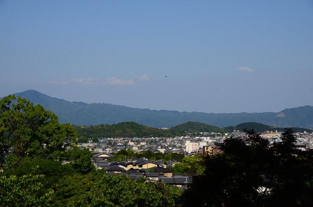 妙見宮前からの眺望