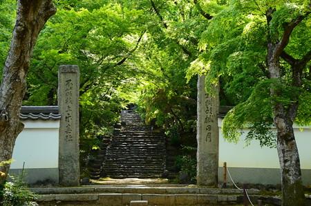 浄住寺山門