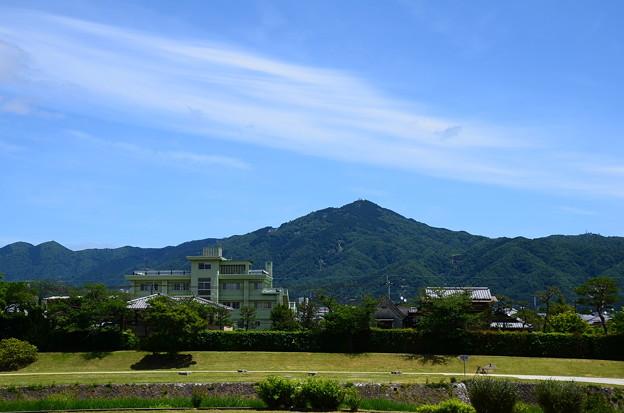緑の比叡山