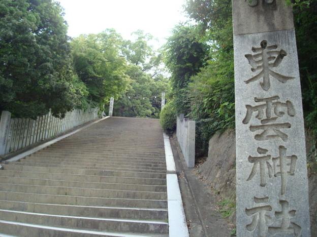 東雲神社参道