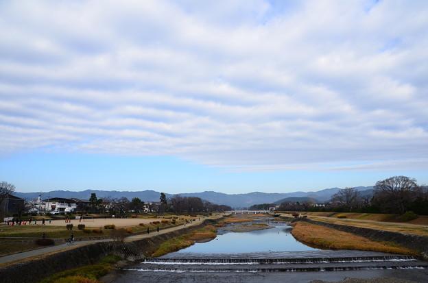 賀茂川の雲