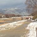 Photos: 北山にも雪