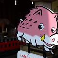 Photos: アニメ風?の猪