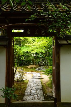 金福寺風景