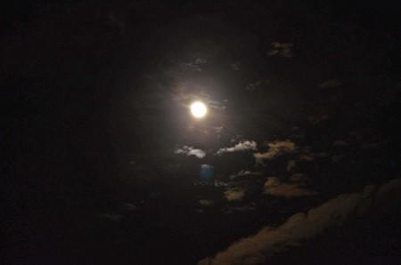 昨夜の月夜