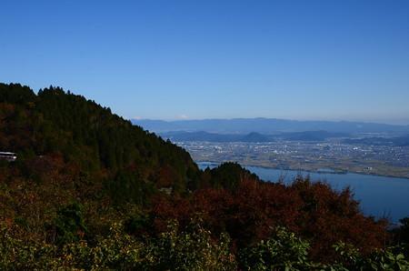 琵琶湖越しの近江富士