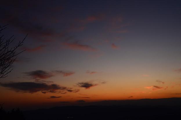 比叡山から見る夕景