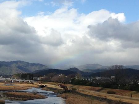 大晦日の虹