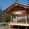 Photos: 仮拝殿かな~?