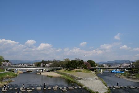 賀茂大橋から