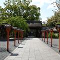 Photos: 無人の平野神社