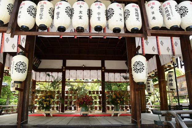 5月初めの上御霊神社