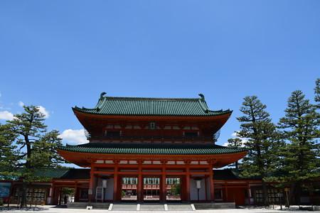皐月空の応天門