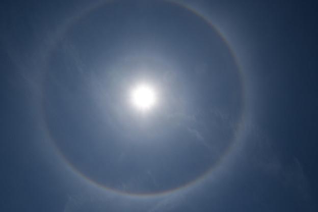 Photos: 日暈