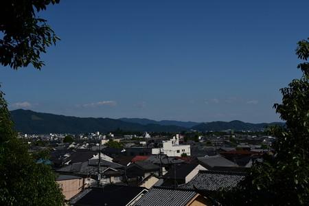 二葉姫稲荷神社からの眺望