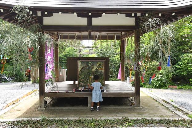 大豊神社の七夕飾り