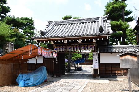 地蔵盆準備の上善寺
