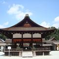 Photos: 夏空の下鴨神社舞殿