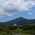 Photos: 高野川から見る比叡山