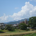 Photos: 晩夏の雲の愛宕山