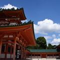 Photos: 青空の白虎楼