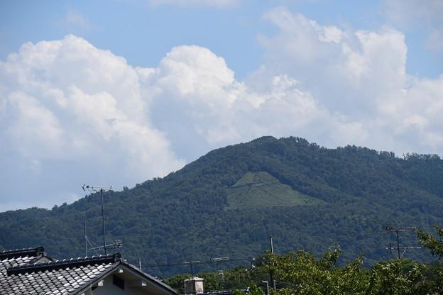 夏雲の大文字