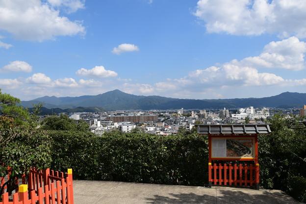 建勲神社からの眺望