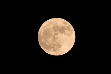 ハロウィーンの満月