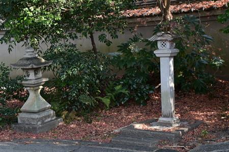 散りもみじの宗像神社