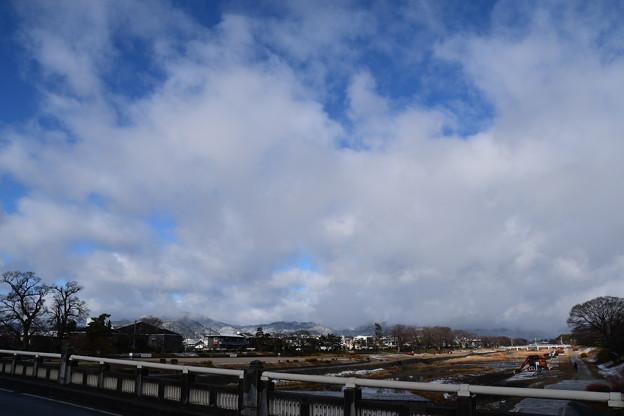 Photos: 青空も出て