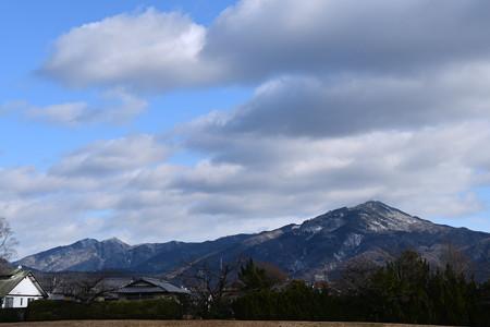 雪の比叡山系