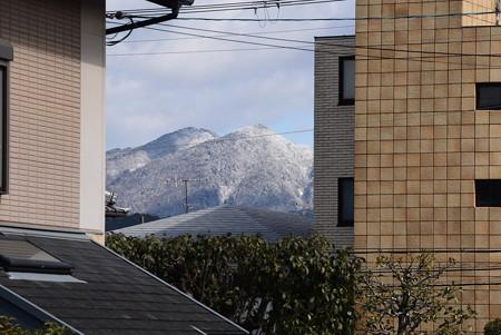雪の水井山と横高山