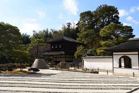 冬の銀閣寺