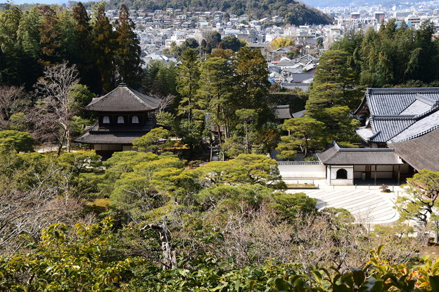 Photos: 展望所から見る銀閣