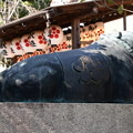 菅原院天満宮の牛像