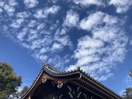 バレンタインデーの雲