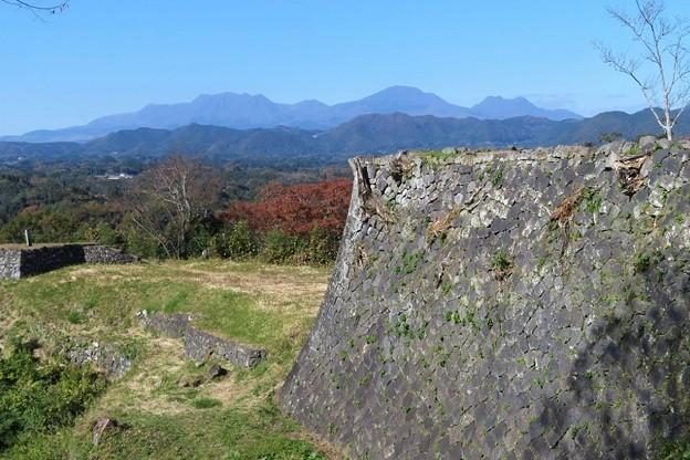 くじゅう連山(岡城址から)_7312