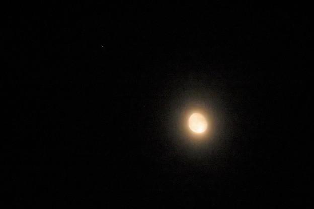 おぼろ月&木星_4560