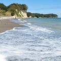 Photos: 砂浜の寄せ波引き波_8266