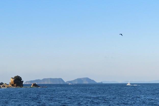 漁場へ向かう漁船_9204