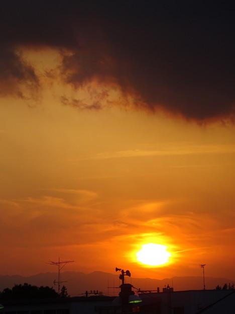 太宰治が見た夕日