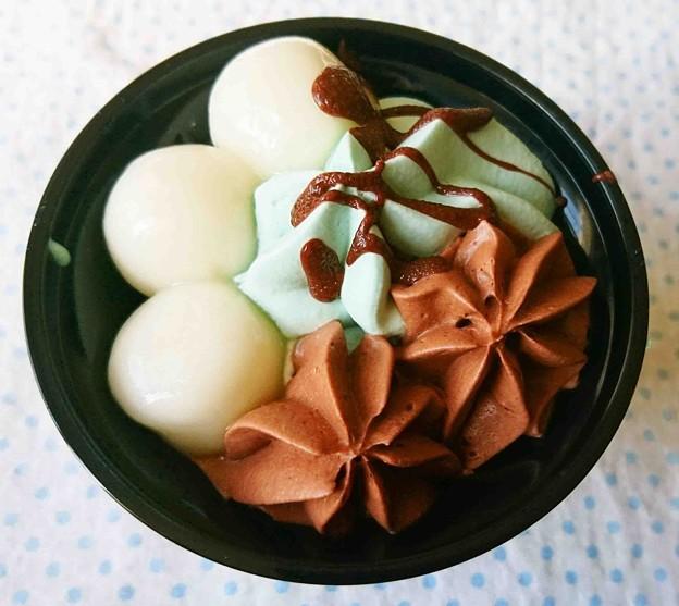 セブンイレブン チョコミントの和ぱふぇ