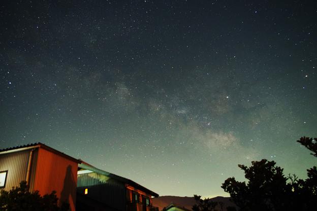 写真: 夏の星空