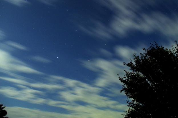 七夕の夜の木星