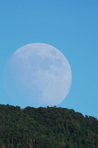巨大な月(笑)